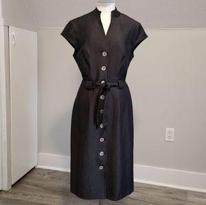 Connected Apparel | denim dress